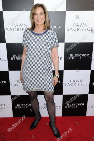 "Editorial image of LA Premiere of ""Pawn Sacrifice"" - Arrivals, Los Angeles, USA"
