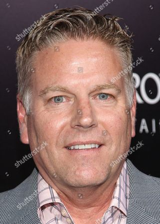 """Producer Doug Mankoff arrives at the premiere of """"Romeo and Juliet"""" at the ArcLight on in Los Angeles"""