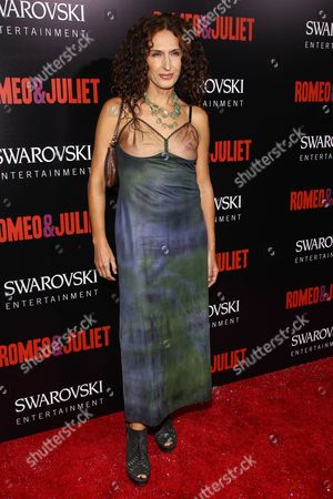 "Actress Francesca Fanti arrives at the premiere of ""Romeo and Juliet"" at the ArcLight on in Los Angeles"