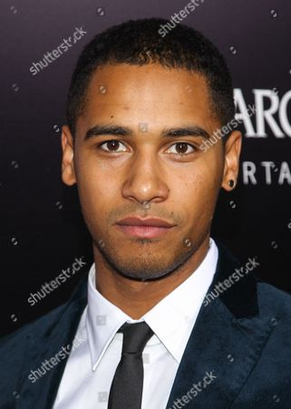 """Actor Elliot Knight arrives at the premiere of """"Romeo and Juliet"""" at the ArcLight on in Los Angeles"""