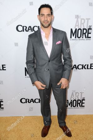 "Actor Patrick Sabongui attends the LA Premiere of ""The Art of More"" held at Sony Pictures Studios, in Culver City, Calif"