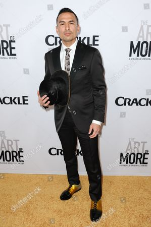 """Michael Reventar attends the LA Premiere of """"The Art of More"""" held at Sony Pictures Studios, in Culver City, Calif"""