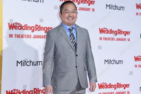 Aaron Takahashi arrives at the LA Premiere Of The Wedding Ringer at the TLC Chinese Theatre, in Los Angeles, CA