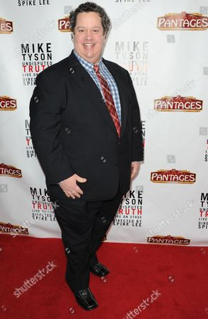 """Paul Vogt arrives at the LA premiere of """"Mike Tyson: Undisputed Truth"""" at the Pantages Theatre on Friday, March8, 2013 in Los Angeles"""
