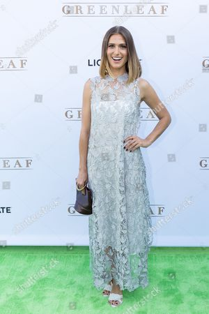 "Stock Photo of Kristin Erickson arrives at the season one premiere of ""Greenleaf"" at The Lot, in West Hollywood, Calif"