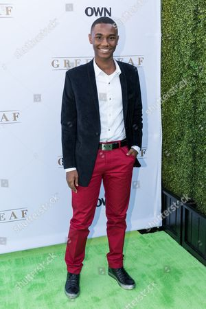 "Zachary S. Williams arrives at the season one premiere of ""Greenleaf"" at The Lot, in West Hollywood, Calif"