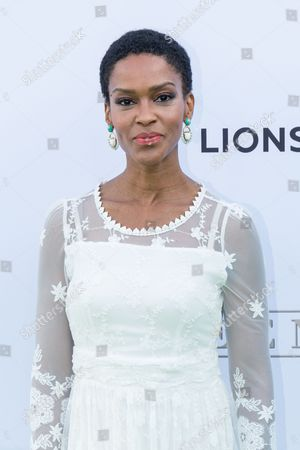 """Kim Hawthorne arrives at the season one premiere of """"Greenleaf"""" at The Lot, in West Hollywood, Calif"""