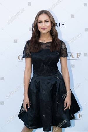 """Desiree Ross arrives at the season one premiere of """"Greenleaf"""" at The Lot, in West Hollywood, Calif"""