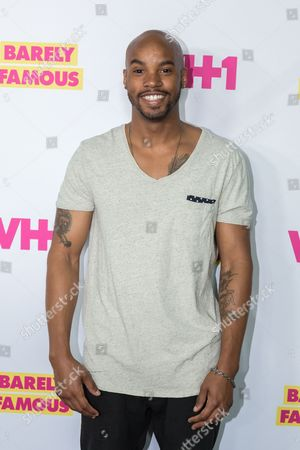 """Antoine Harris arrives at the season two premiere of """"Barely Famous"""", in West Hollywood, Calif"""