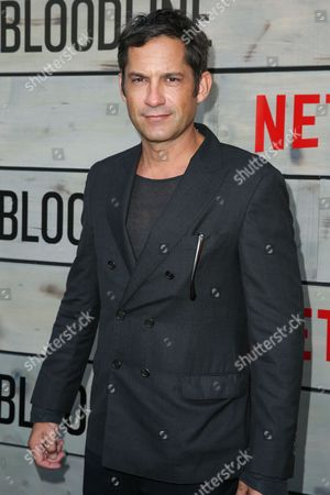 """Enrique Murciano arrives at the Premiere of """"Bloodline"""" Season Two at Westwood Village Theatre, in Los Angeles"""