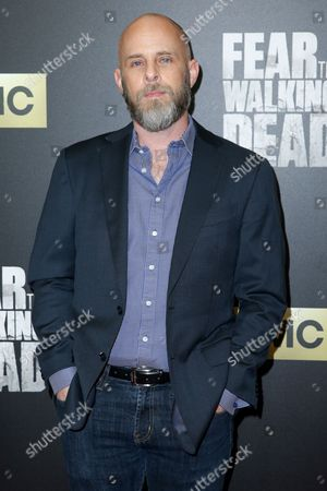 """Dave Erickson arrives at the LA Premiere of """"Fear the Walking Dead"""" Season Two at Cinemark Playa Vista, in Los Angeles"""