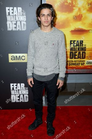 "Aramis Knight arrives at the LA Premiere of ""Fear the Walking Dead"" Season Two at Cinemark Playa Vista, in Los Angeles"