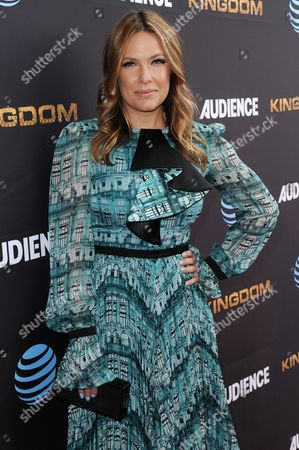 """Stock Picture of Kiele Sanchez attends the LA Premiere of Season Two of """"Kingdom"""" held at Harmony Gold, in Los Angeles"""