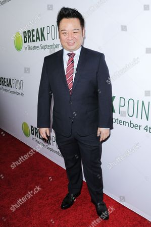 "Rex Lee arrives at the LA Special Screening of ""Break Point"" held at the TCL Chinese 6 Theatres, in Los Angeles"