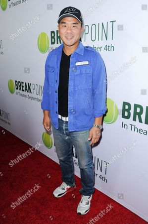 """Gene Hong arrives at the LA Special Screening of """"Break Point"""" held at the TCL Chinese 6 Theatres, in Los Angeles"""
