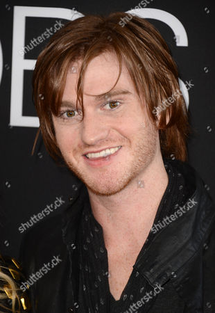 """Eddie Hassell arrives at the special screening of """"Jobs"""" at the Regal Cinemas L.A. Live, in Los Angeles"""