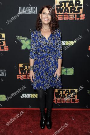 "Vanessa Marshall arrives at the LA Special Screening of ""Star Wars Rebels"", in Los Angeles"