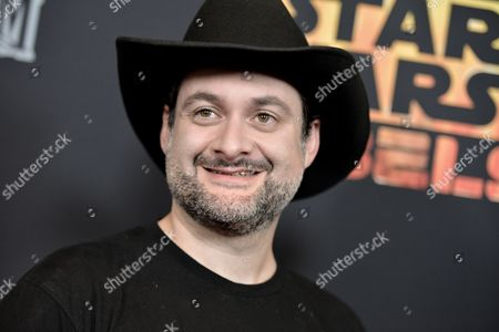 """Dave Filoni arrives at the LA Special Screening of """"Star Wars Rebels"""", in Los Angeles"""