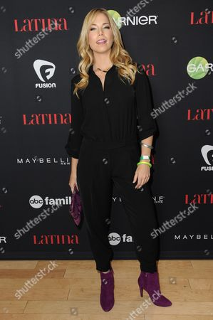 """Pili Montilla arrives at LATINA Magazine's """"30 Under 30"""" Party, in West Hollywood, Calif"""
