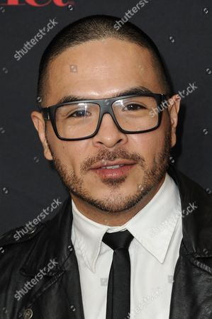 "Gilbert Saldivar arrives at LATINA Magazine's ""30 Under 30"" Party, in West Hollywood, Calif"