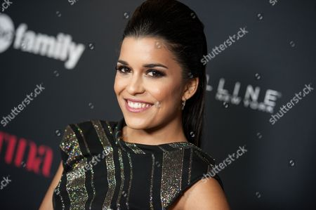 """Alicia Sixtos arrives at LATINA Magazine's """"30 Under 30"""" Party, in West Hollywood, Calif"""