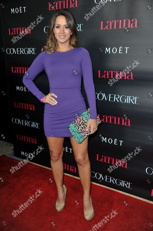 Melissa Marty attends Latinos in Hollywood at The London Hotel on in West Hollywood, Calif