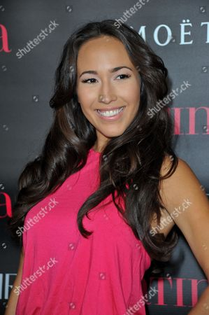 Marisa Quinn attends Latinos in Hollywood at The London Hotel on in West Hollywood, Calif