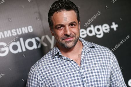 Chris McKenna attends the Launch of the Samsung Galaxy S6 edge+ and Galaxy Note5 Event held at The Lot Studios, in West Hollywood, Calif