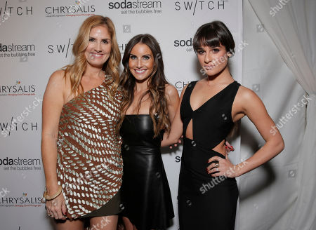 Editorial photo of Lea Michele's Night of Shopping and Cocktails at Switch Boutique presented by SodaStream, Beverly Hills, USA