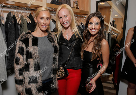 Alexandra Von Furstenberg, Normandie Keith and Jennifer Cohen attend Lea Michele's night of shopping and cocktails at Switch Boutique presented by SodaStream with proceeds going to Chrysalis at Switch Boutique on in Los Angeles
