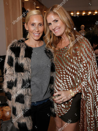 Alexandra Von Furstenberg and Mary Alice Haney attend Lea Michele's night of shopping and cocktails at Switch Boutique presented by SodaStream with proceeds going to Chrysalis at Switch Boutique on in Los Angeles