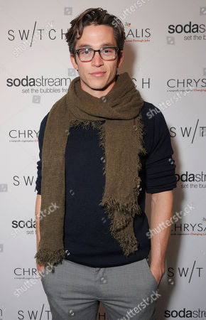 Stock Photo of Bobby Campo attends Lea Michele's night of shopping and cocktails at Switch Boutique presented by SodaStream with proceeds going to Chrysalis at Switch Boutique on in Los Angeles