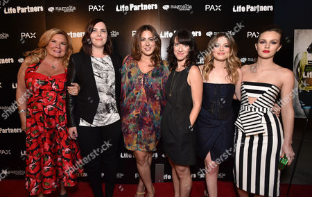 "Editorial image of Los Angeles Special Screening Of ""LIFE PARTNERS"" Presented By PAX, Hollywood, USA"