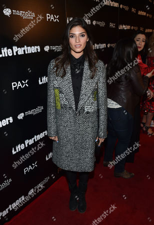 Amanda Setton attends the Los Angeles special screening of 'LIFE PARTNERS' Presented By PAX at The Arclight, in Hollywood, Calif
