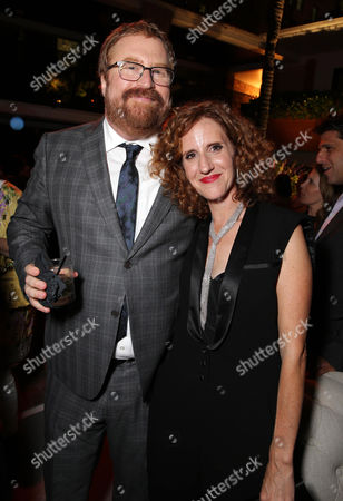 Director R.J. Cutler and Author Gayle Forman seen at the Los Angeles World Premiere of New Line Cinema's and Metro-Goldwyn-Mayer Pictures' 'If I Stay' held at TCL Chinese Theatre, in Hollywood