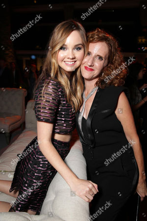 Liana Liberato and Author Gayle Forman seen at the Los Angeles World Premiere of New Line Cinema's and Metro-Goldwyn-Mayer Pictures' 'If I Stay' held at TCL Chinese Theatre, in Hollywood