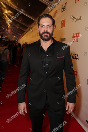 "David Kallaway seen at MGM and Columbia Pictures' world premiere and opening night screening of ""The Magnificent Seven"" at the 2016 Toronto International Film Festival, in Toronto, CAN"