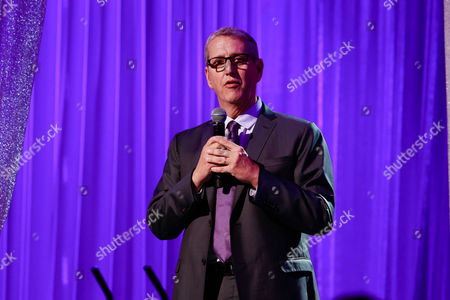 Stock Image of Viacom Music and Entertainment Group president Doug Herzog participates in MTV's 2016 Upfronts at Skylight at Moynihan Stationon, in New York