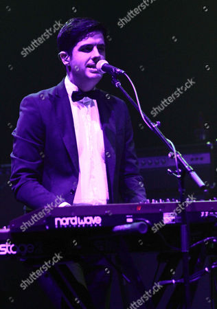 Tyler Parkford with Mini Mansions performs as the opener for My Morning Jacket at the Fox Theatre, in Atlanta