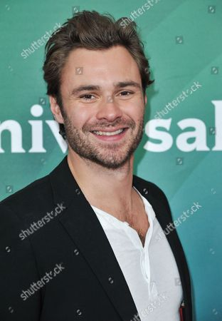 Patrick Flueger seen at the NBC/Universal Winter 2014 TCA on in Pasadena, Calif