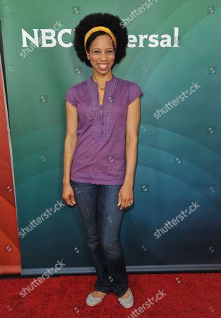 Stock Picture of Dennisha Pratt seen at the NBC/Universal Winter 2014 TCA on in Pasadena, Calif