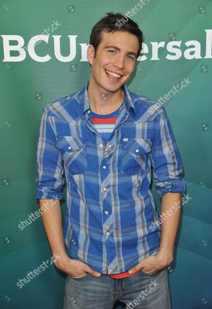 Tim Kubart seen at the NBC/Universal Winter 2014 TCA on in Pasadena, Calif