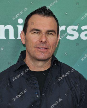 Stock Image of Darin Notaro seen at the NBC/Universal Winter 2014 TCA on in Pasadena, Calif