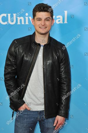 Kevin Bigley seen at the NBC/Universal Winter 2014 TCA on in Pasadena, Calif
