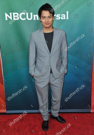 Archie Kao seen at the NBC/Universal Winter 2014 TCA on in Pasadena, Calif