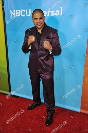 Fernando Vargas seen at the NBC/Universal Winter 2014 TCA on in Pasadena, Calif