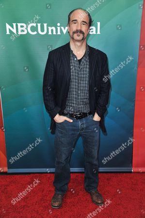 Stock Image of Elias Koteas seen at the NBC/Universal Winter 2014 TCA on in Pasadena, Calif