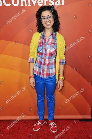 Carly Ciarrocchi seen at the NBC/Universal Winter 2014 TCA on in Pasadena, Calif