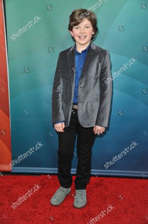 Eli Baker seen at the NBC/Universal Winter 2014 TCA on in Pasadena, Calif