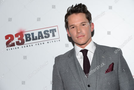 """Actor Mark Hapka attends the premiere of """"23Blast"""" at the Regal Cinemas E-Walk Theater on in New York"""